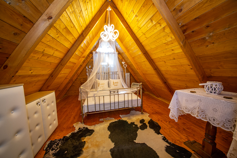 The Bride's Chalet Room